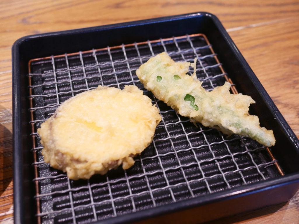 魚天天ぷら1