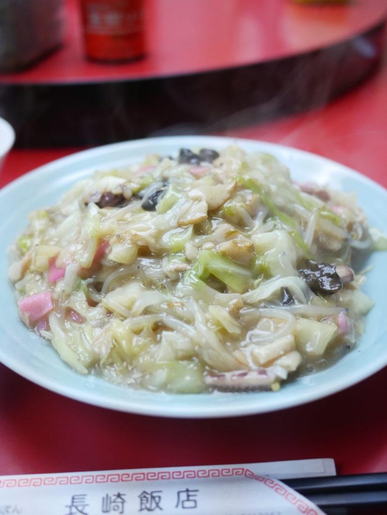 長崎飯店渋谷店皿うどん軟麺